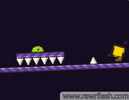 Jogos de plataforma, hardcore: Pixel Slime