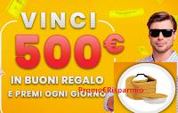 Logo ''Vinci con Top'': vinci gratis 152 premi (Huawei Band, frullatori e molto altro) e 5 buoni spesa da 500€ MondoTop