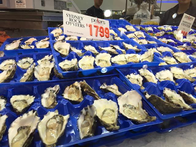Sydney Fish Market - Sydney Rock Oysters