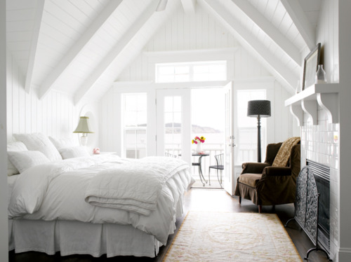 Beautiful White Bedrooms