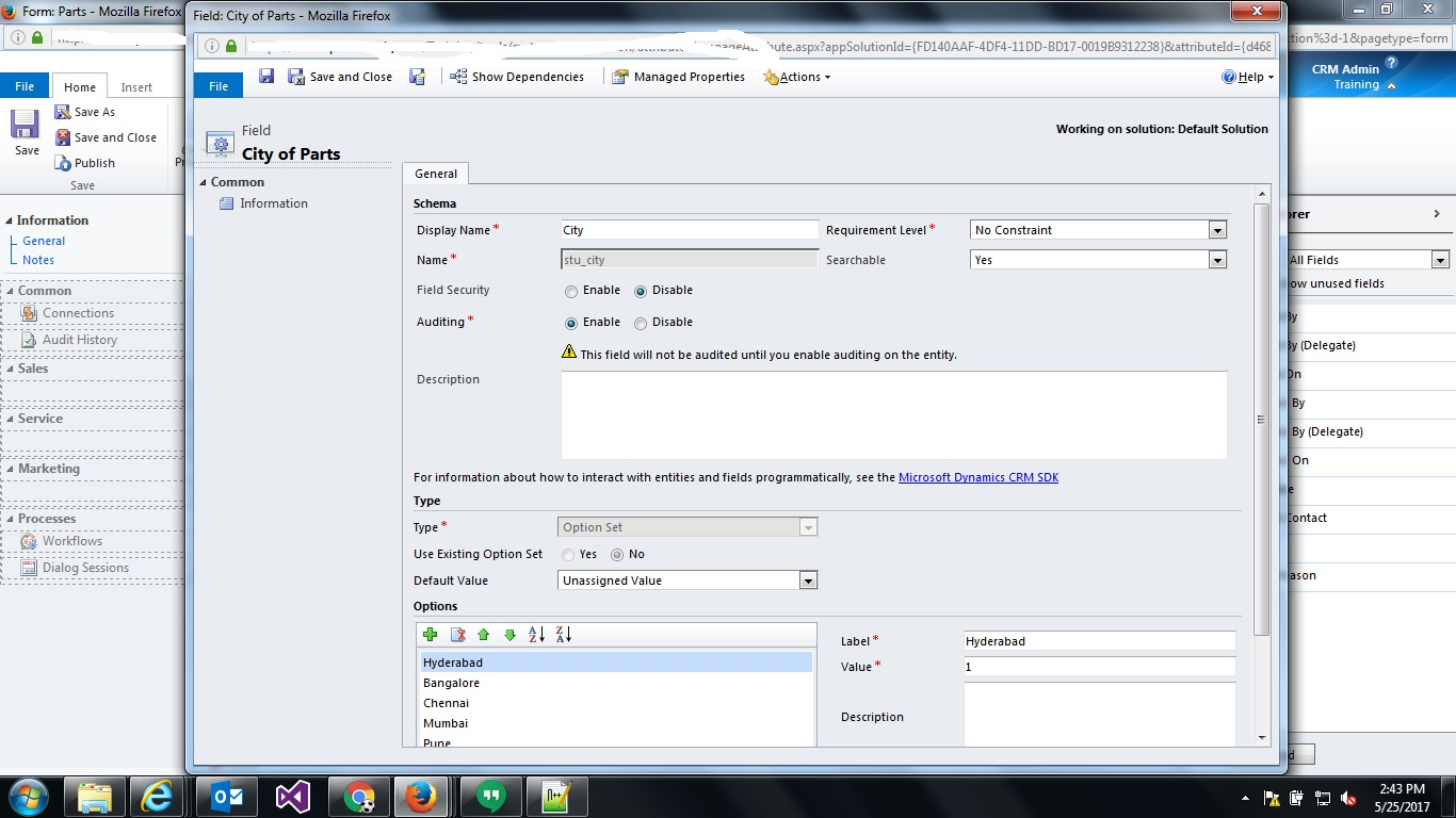 Bhoopathi Goud K: Converting Option Set into Multi Select