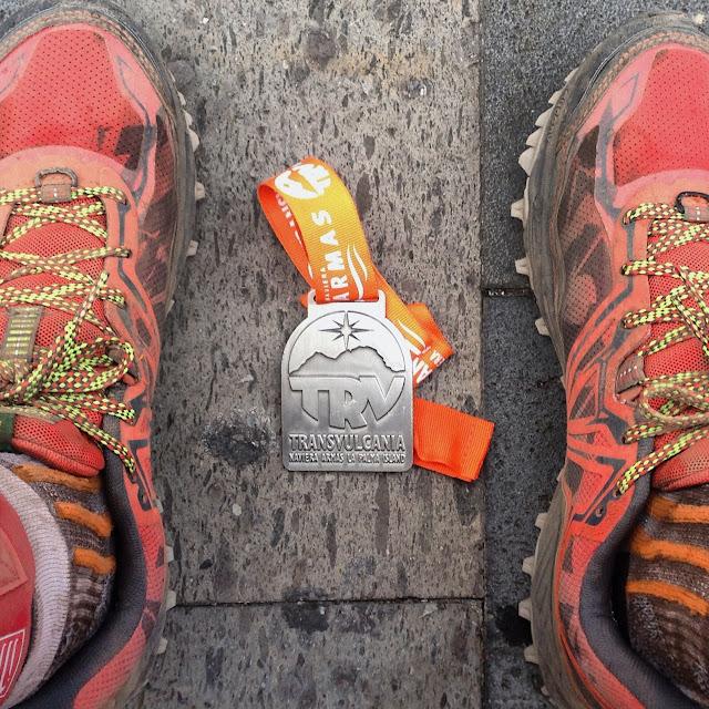 Crónica Transvulcania 2016 - Medalla de finisher Ultramaratón