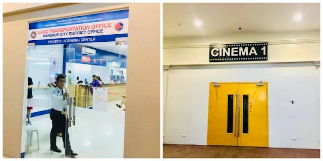 J Centre Mall Cinema and LTO Satellite Office inside J Centre Food Central