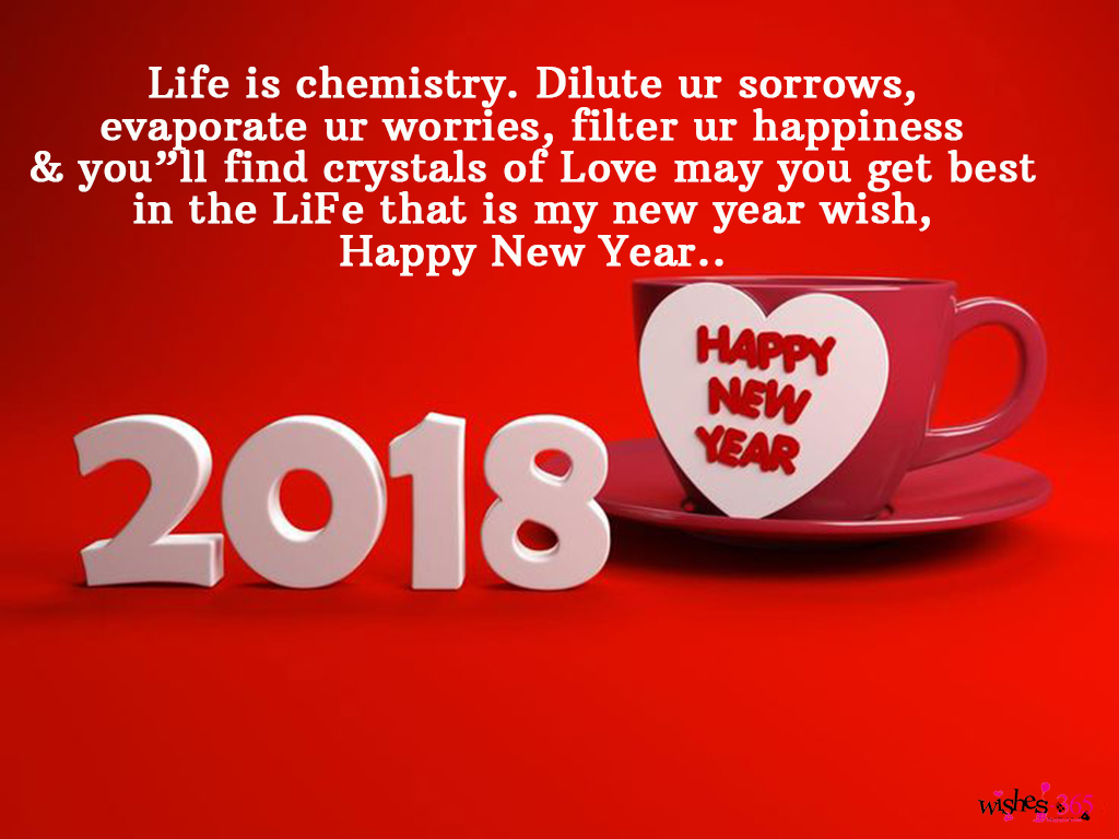 Poetry and worldwide wishes happy new year greetings cards 2018 dilute ur sorrowsevaporate ur worries filter ur happiness youll find crystals of love may you get bestin the life that is my new year wishhappy new m4hsunfo