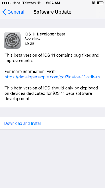 Can i download iOS 11 beta without Developer Account? Here's How To Download and install iOS 11 beta 1 without Developer Account or Computer on iPhone/iPad