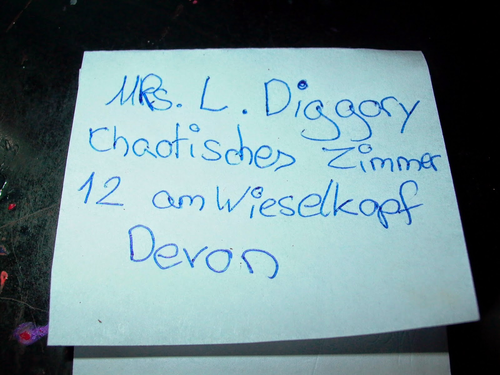 Lunas Träumereien Hogwarts Akzeptanz Brief