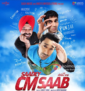 Saadey CM Saab (2016) Worldfree4u - Watch Online Full Movie Free Download 375MB DVDScr Punjabi Movie