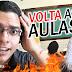 VOLTA AS AULAS, ESCOLA, HISTÓRIAS, YOUTUBE