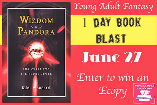 Book Blast & Giveaway: Wizdom and Pandora by K.M. Woodard