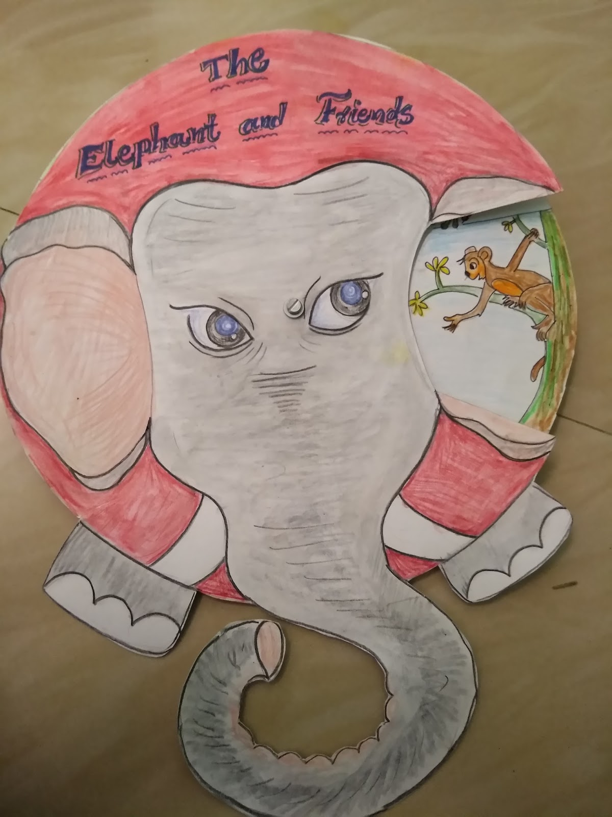Innovative Story Reading Wheel The Elephant And Friends