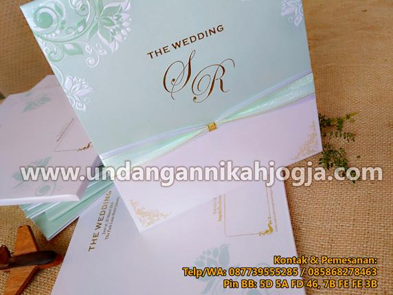 undangan pernikahan exclusive mewah