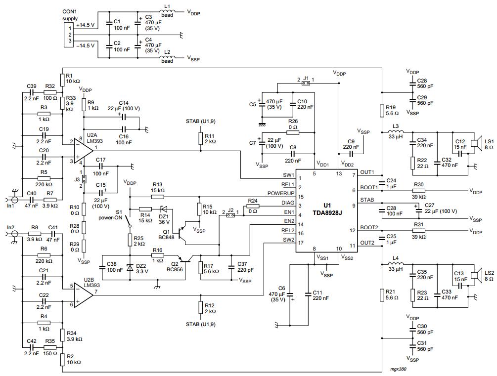 AmplifierCircuits.com: 2x10W