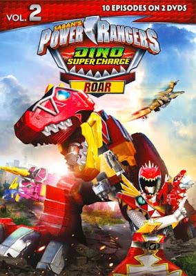 Power Rangers Dino Super Charge Roar Vol 2 [Latino]