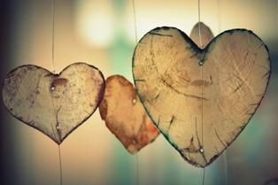 foglie a forma di cuore
