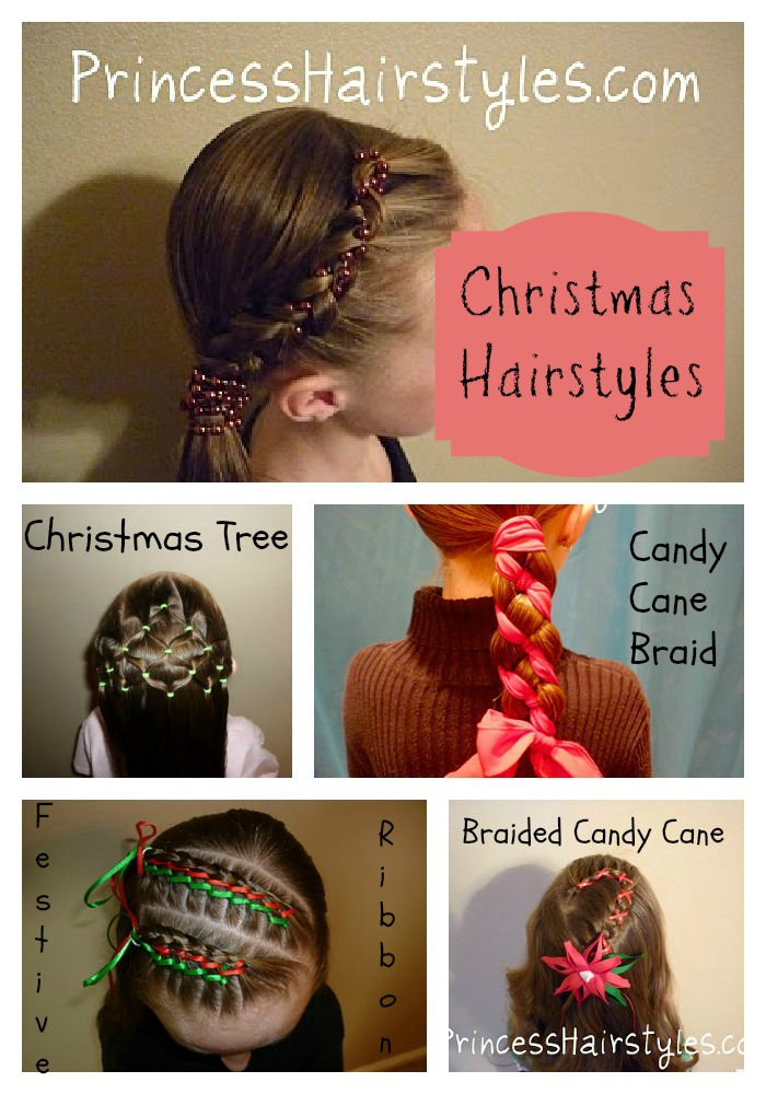 Christmas Hairstyles For Girls.Christmas Hairstyles Hairstyles For Girls Princess