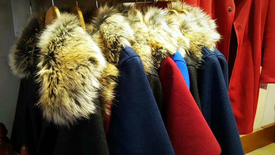 Faux Fur Capes, The Winsome Lady, Shop Ballymoney, The Style Guide Blog