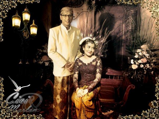 foto pernikahan adat jawa cici dan marlon
