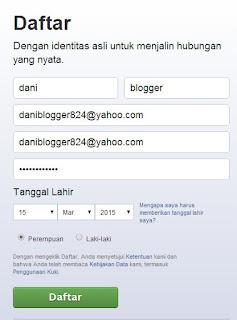 Cara Membuat  Daftar Akun Facebook Fb Baru dan Lengkap