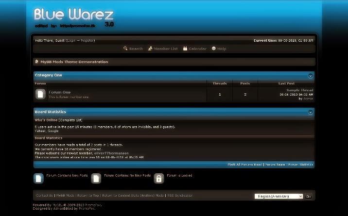 Blue Warez 3.0