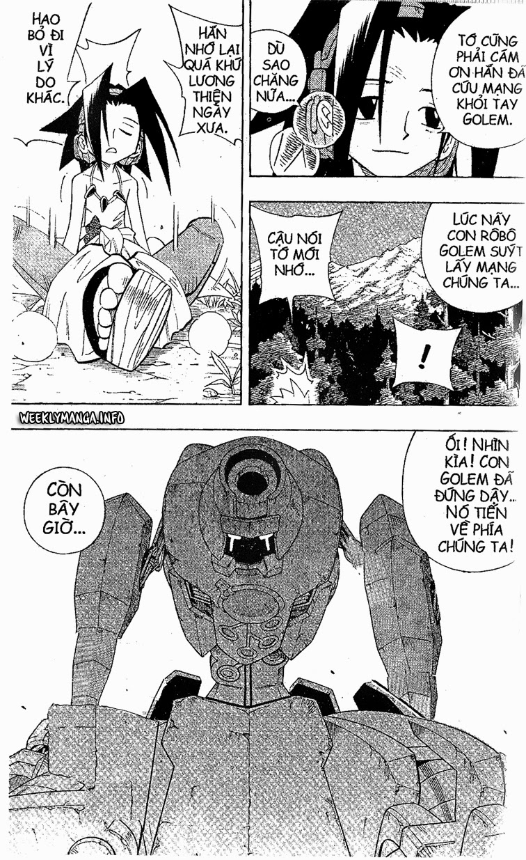 Shaman King [Vua pháp thuật] chap 198 trang 18
