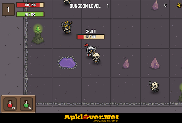 The Dungeon Tiny APK MOD