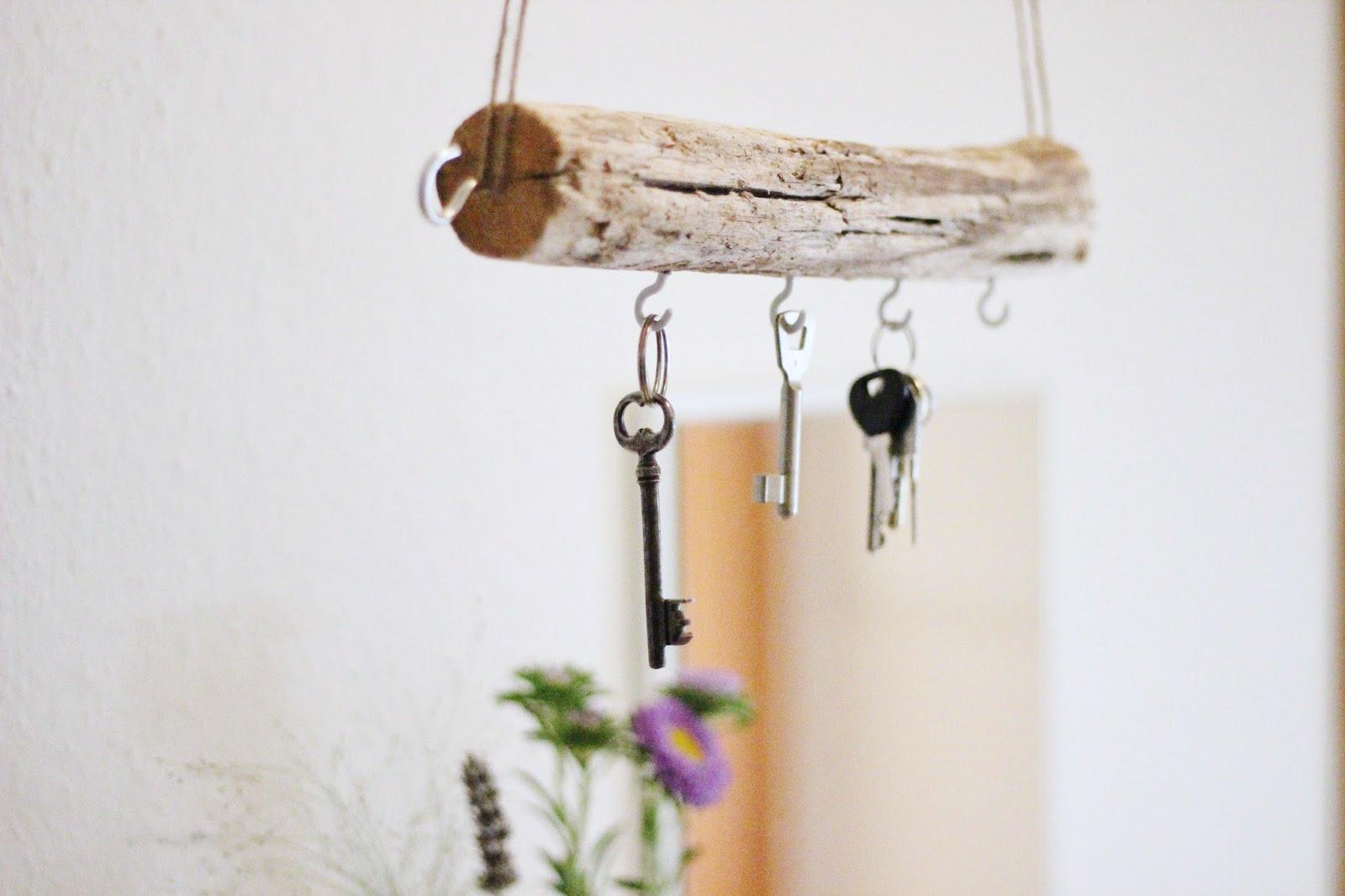 fair fashion + interior design : diy: schlüsselbrett aus treibholz