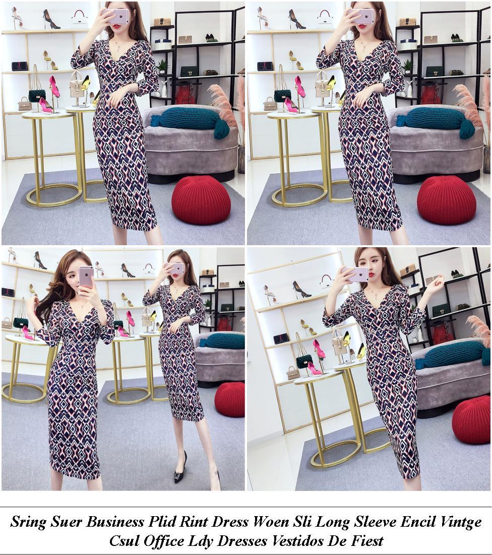 Lack Strappy Off The Shoulder Midi Dress - Womens Clothes Sale Uk - Fashion Clu Dress Code