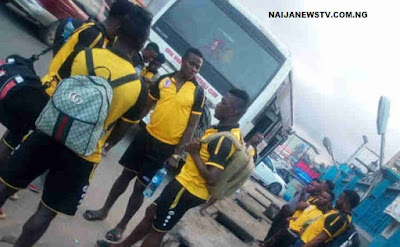 Abia Warriors Players, Officials Attacked By Armed Robbers