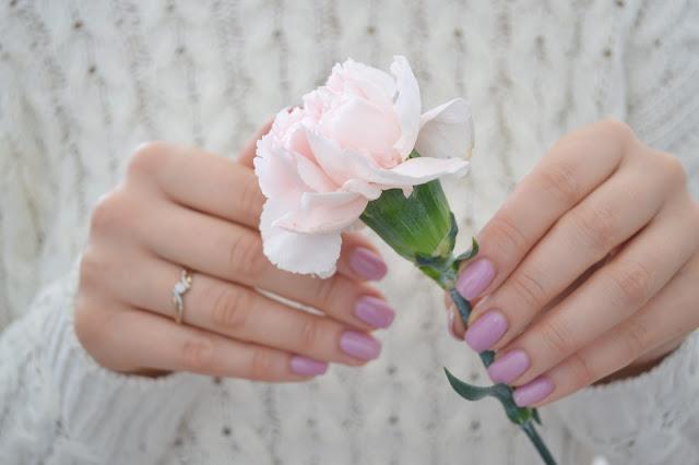 manicure, semilac, nude beige rose, 057, hybryda,