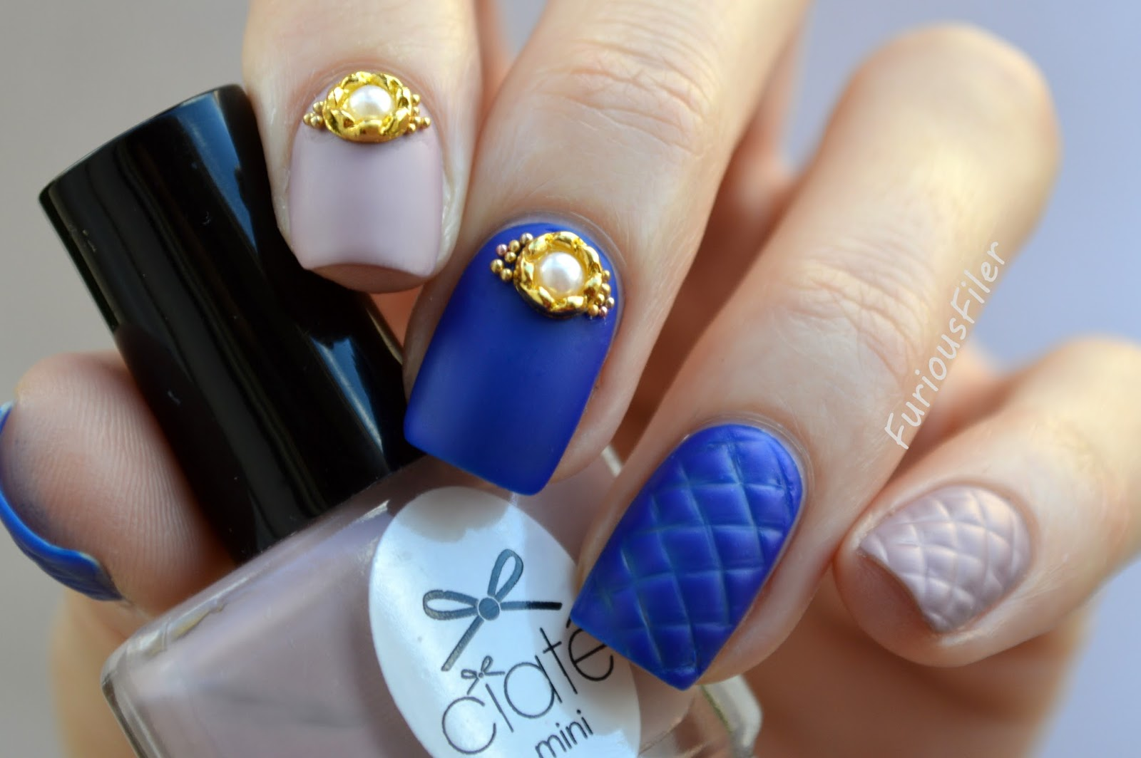 Quilt Nails A Step Towards Easy 3d Nail Art