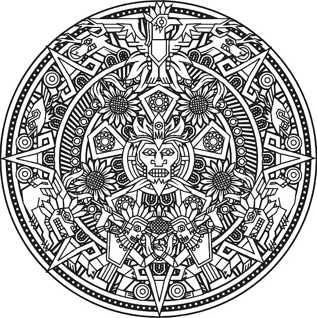 Mandala Coloring Pages With Mandalas