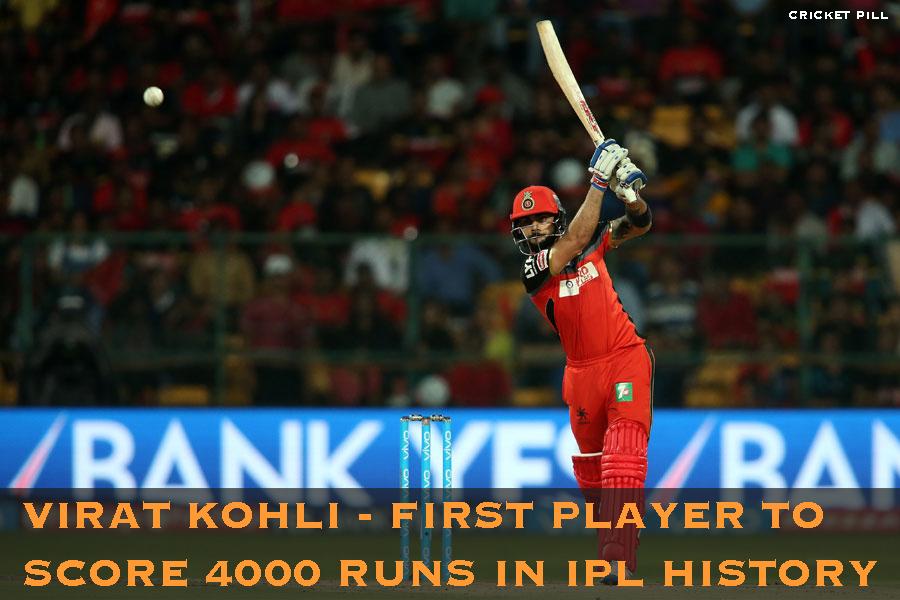 Virat Kohli 4000 runs in IPL