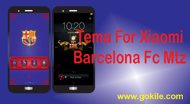 Tema Club Bola Barcelona Fc Mtz Terbaru For Xiaomi