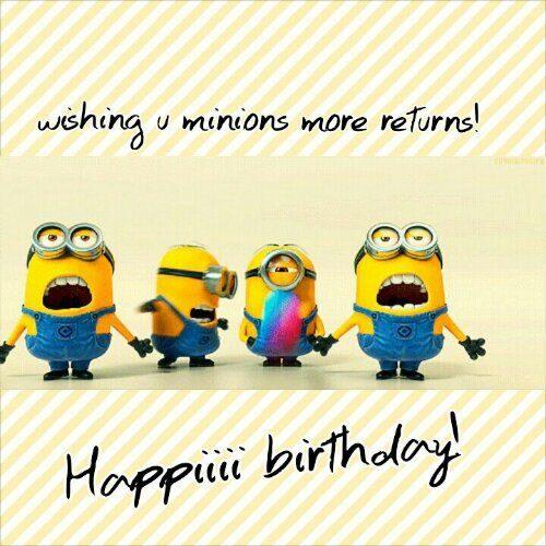 happy birthday minion meme