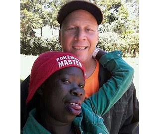 See Reactions of People As White Man Finds Love In Africa, Takes Her To His Country (Photos)