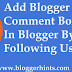 Blogger Comment Box Not Showing ? Here is How to Fix It.