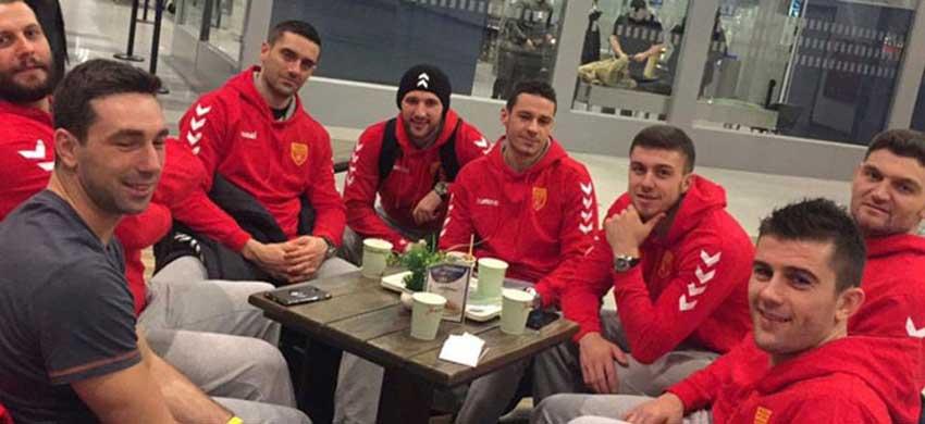 Handball Euros: Macedonian team arrives in Zagreb