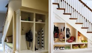 Aprovechar espacio bajo escalera