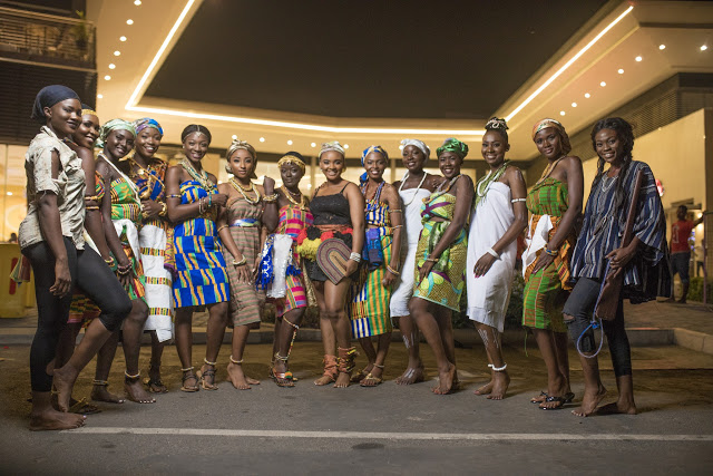 2017 Miss Malaika Ghana Delegates Explore Ghanaian Culture