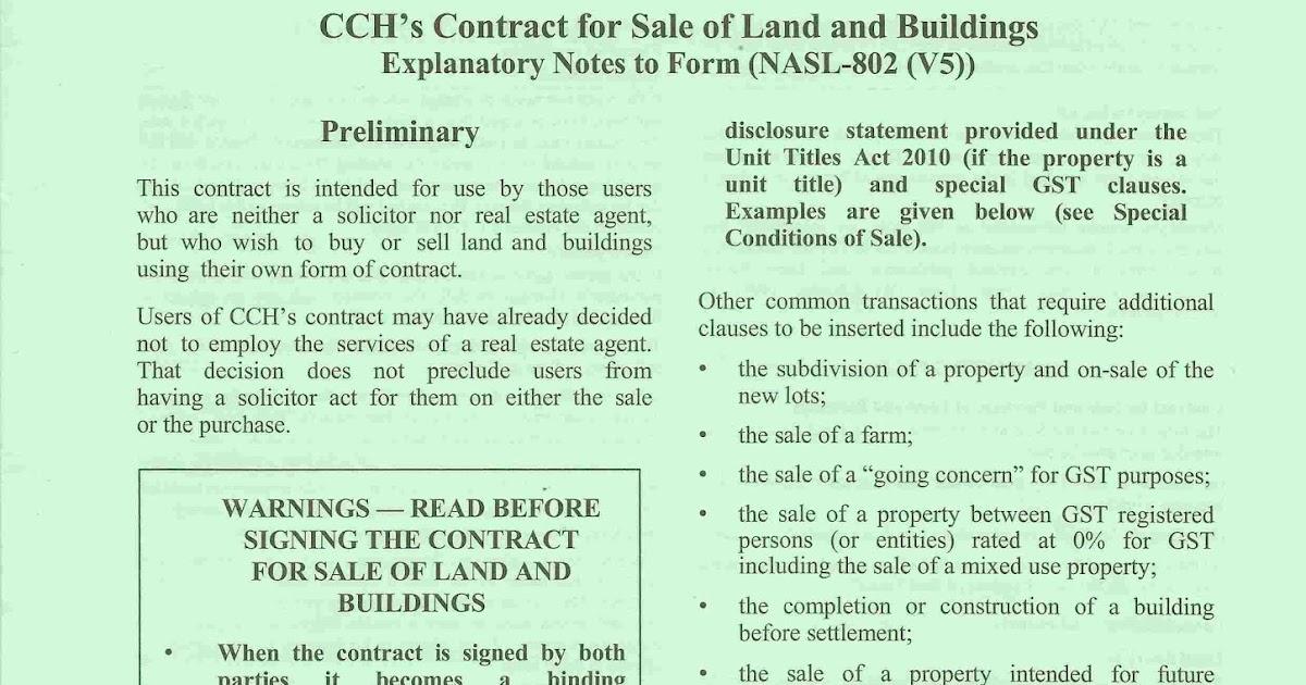 Diy Conveyancing In New Zealand Diy Conveyancing Nz The Contract