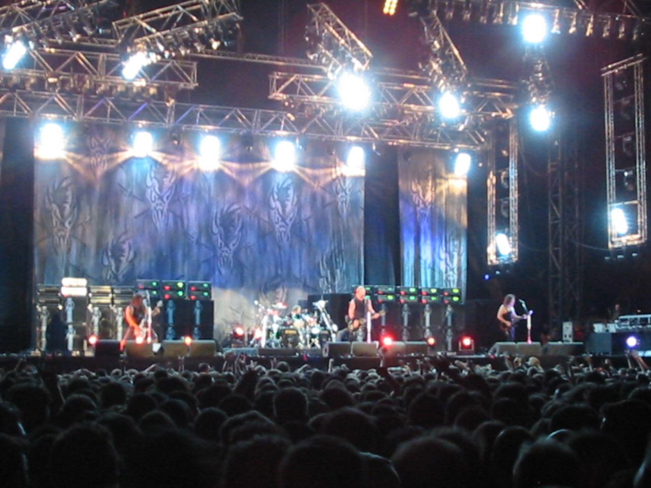Fotografía: Metallica concierto en España en 2003