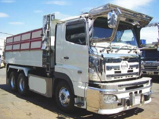 contoh modifikasi dump truk hino tronton