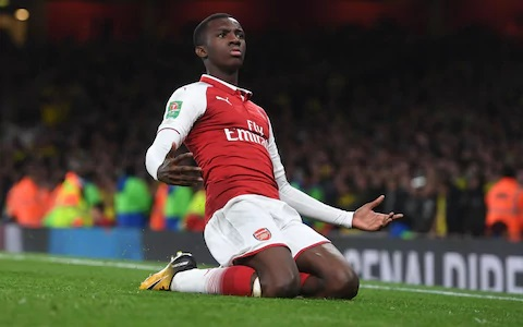 Eddie Nketiah Biography