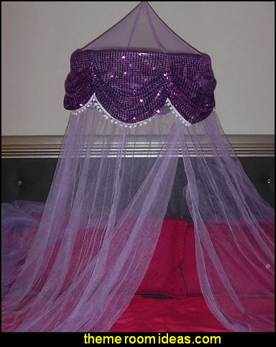 Princess Canopy with Sequins
