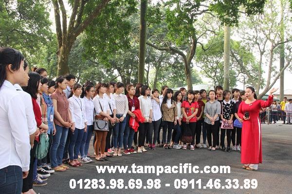 Nghiệp vụ Hướng Dẫn Du Lịch dành cho sinh viên đại học và cao đẳng