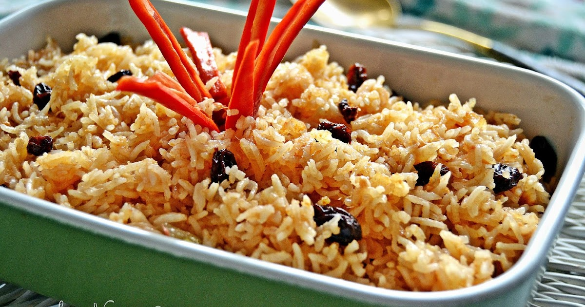 Resepi Nasi Minyak Untuk Kenduri Kahwin