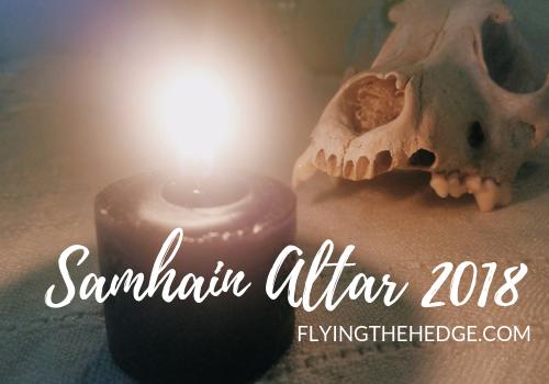 Samhain Altar 2018