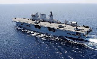 Kapal Serbu Amfibi HMS Ocean