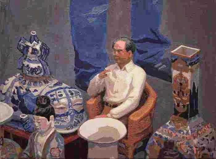 Современная британская художница. H.R. Bell