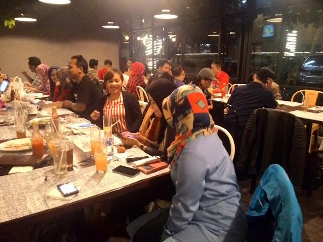 Blogger Bandung di Acara Kopdar My JNE